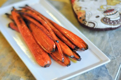 Honey Balsamic Roasted Carrots | Tasty Kitchen: A Happy Recipe ...