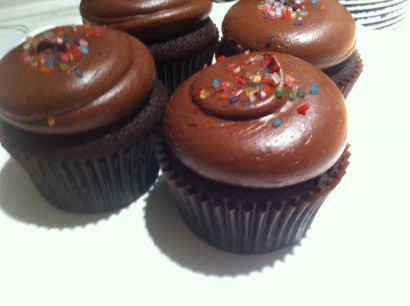 chocolate ganache frosting for cupcakes