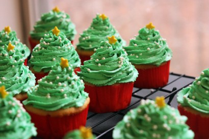 dreamy vanilla christmas tree cupcakes tasty kitchen a happy recipe community