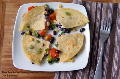 Black Bean and Goat Cheese Quesadillas | Tasty Kitchen: A Happy Recipe ...