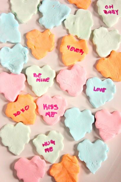 Homemade Conversation Hearts | Tasty Kitchen: A Happy Recipe Community ...
