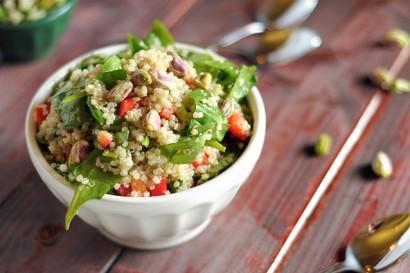 Sesame Pistachio Quinoa Salad   Tasty Kitchen: A Happy Recipe ...