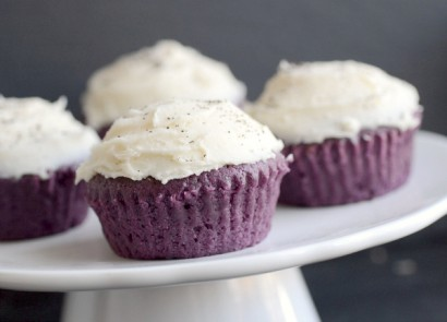 Lavender Cupcakes with Earl Grey Icing | Tasty Kitchen: A Happy Recipe ...