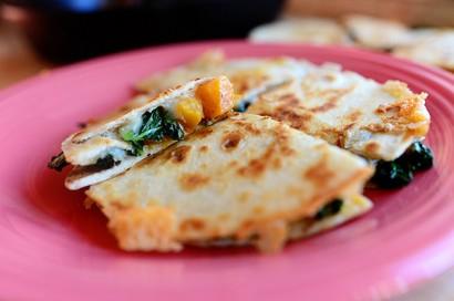Butternut Squash & Kale Quesadillas | Tasty Kitchen: A Happy Recipe ...