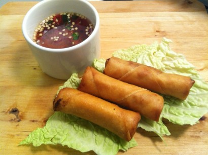 Vietnamese Spring Rolls (Cha Gio) with Fish Dipping Sauce ...