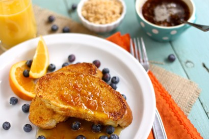 French Toast with Caramelized Cinnamon Orange Sugar | Tasty Kitchen: A ...