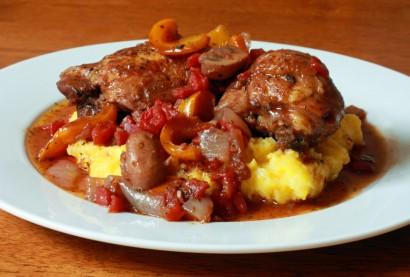 Chicken Cacciatore With Polenta Tasty Kitchen A Happy