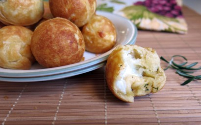 Pizza Bites with Three Cheeses, Rosemary and Garlic Using a Cake Pops ...