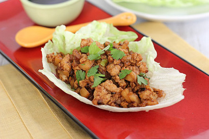 Copycat P.F. Chang's Chicken Lettuce Wraps | Tasty Kitchen: A