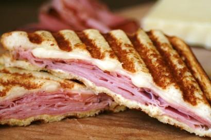 Honey Ham and Monterey Jack Panini | Tasty Kitchen: A ...