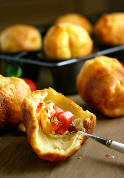 Popovers with Strawberry Butter | Tasty Kitchen: A Happy ...