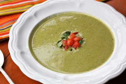 ... soup into a roasted cauliflower soup with roasted cauliflower poblano