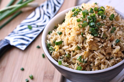 Fried Brown Rice With Ginger And Scallions Recipes — Dishmaps