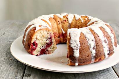 Lemon Cherry Bundt Cake With Lemon Glaze Tasty Kitchen A Happy
