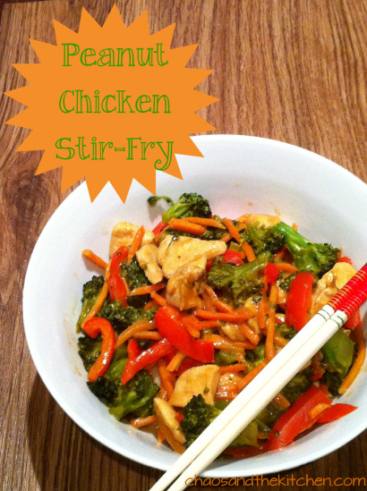 Peanut Chicken Stir-Fry | Tasty Kitchen: A Happy Recipe Community!