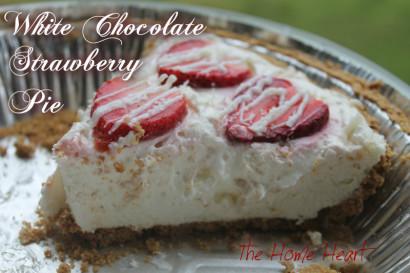 White chocolate strawberry pie tasty kitchen a happy for White chocolate and strawberry tart