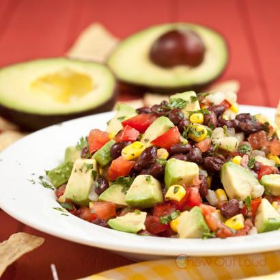Black Bean Corn Avocado Salad Dip | Tasty Kitchen: A Happy Recipe ...