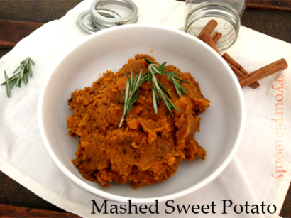 Mashed Sweet Potatoes | Tasty Kitchen: A Happy Recipe Community!