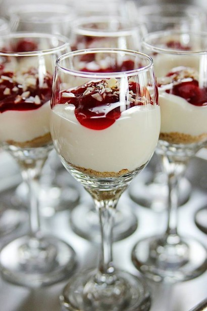 Cherry cheesecake shooters tasty kitchen a happy recipe community