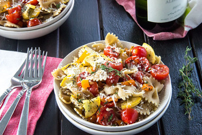 Grilled veggie pasta with white wine and parmesan tasty kitchen a grilled veggie pasta with white wine and parmesan tasty kitchen a happy recipe community forumfinder Choice Image