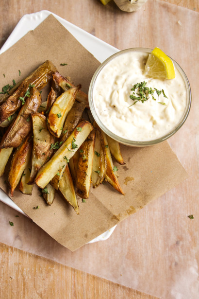 Garlic Aioli Dipping Sauce For French Fries Tasty Kitchen A
