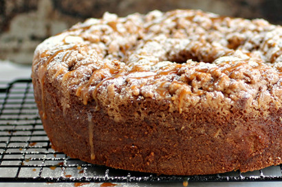 Caramel Apple Sour Cream Coffee Cake Tasty Kitchen A Happy Recipe Community