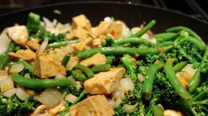 Green Bean Shiitake Mushroom and Tofu Stir-Fry | Tasty Kitchen: A ...
