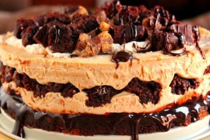 Peanut Butter & Brownie Cheesecake | Tasty Kitchen: A Happy Recipe ...