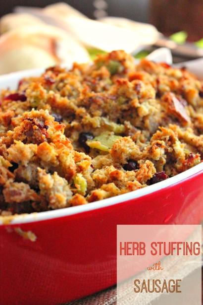 Herb Stuffing with Sausage | Tasty Kitchen: A Happy Recipe ...
