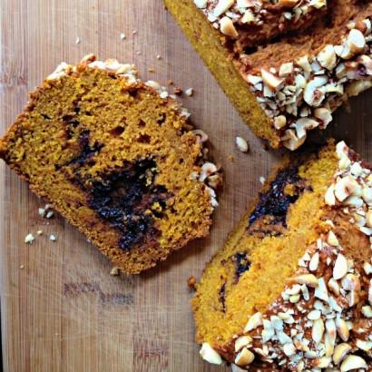 Nutella Pumpkin Bread   Tasty Kitchen: A Happy Recipe Community!