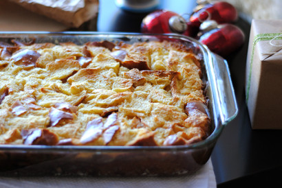 Eggnog Challah French Toast Bread Pudding Tasty Kitchen A Happy