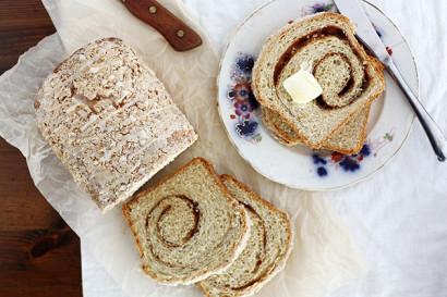 Eggnog Cinnamon Swirl Bread | Tasty Kitchen: A Happy Recipe Community!