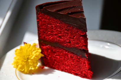 Red Velvet Chocolate Ganache Cake Tasty Kitchen A Happy