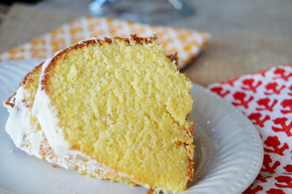 Cornmeal Buttermilk Pound Cake