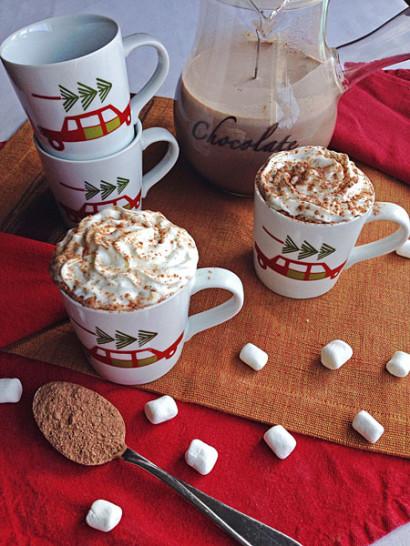 Healthy Dry Non Sugar Hot Chocolate Mix