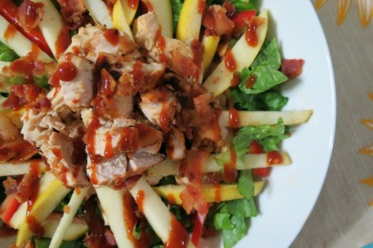 Barbecue Chicken and Apple Salad | Tasty Kitchen: A Happy Recipe ...