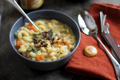 Beer Cheese-N-Mac Soup | Tasty Kitchen: A Happy Recipe ...