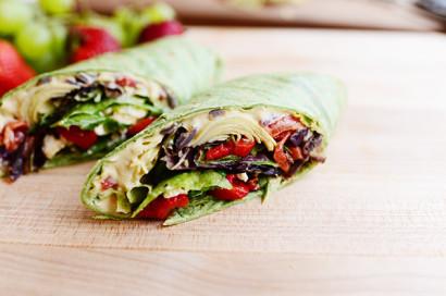 Heavenly Hummus Wrap | Tasty Kitchen: A Happy Recipe ...