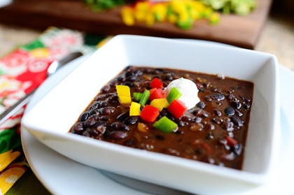Black Bean Soup The Pioneer Woman