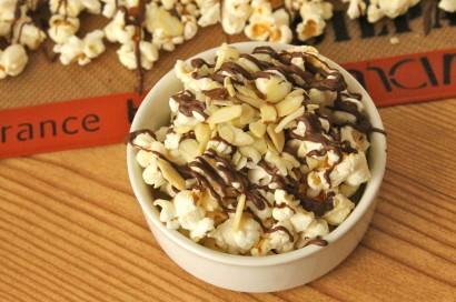 Chocolate Almond Popcorn | Tasty Kitchen: A Happy Recipe Community!
