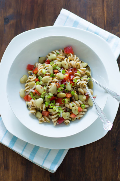 Pasta Salad With Lima Beans And Anchovies Tasty Kitchen A Happy Recipe Community