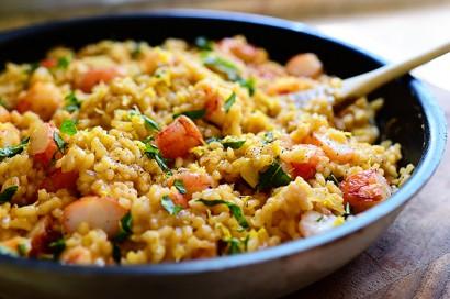 Lemon Basil Shrimp Risotto | Tasty Kitchen: A Happy Recipe Community!