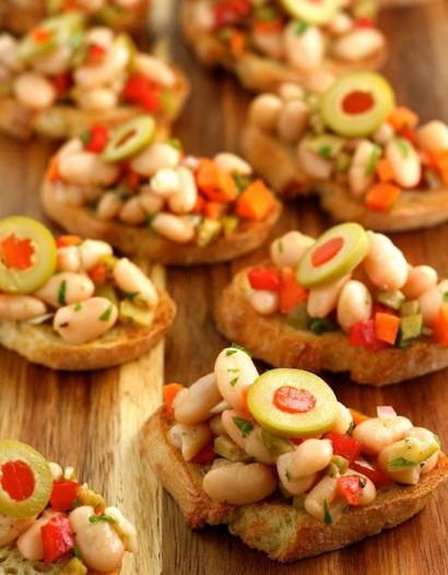 Tuscan White Bean Crostini | Tasty Kitchen: A Happy Recipe Community!