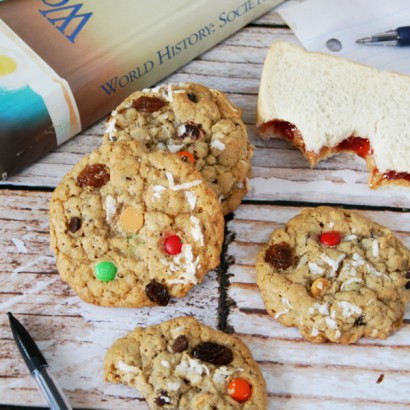 Everything But The Kitchen Sink Oatmeal Cookies