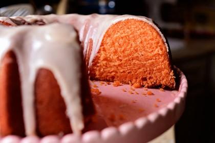 Intense orange cake recipe