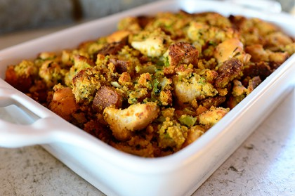 Thanksgiving Stuffing Recipe Chorizo Sage Stuffing The Kitchen