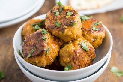 Thai Red Curry Chicken Meatballs | Tasty Kitchen: A Happy Recipe ...