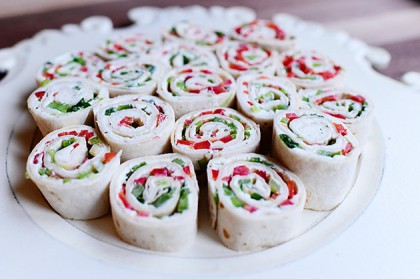 Christmas Tortilla Rollups The Pioneer Woman