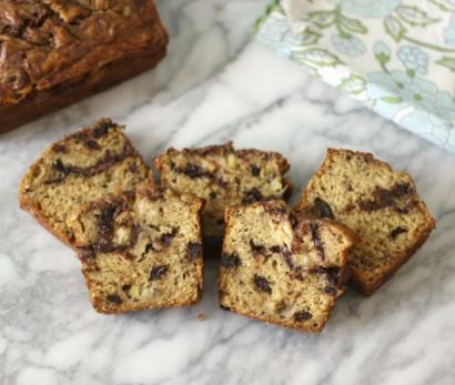 Chocolate Peanut Butter Banana Bread | Tasty Kitchen: A Happy Recipe ...