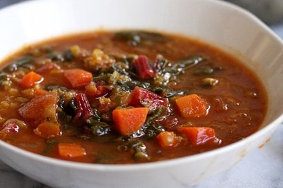 Moroccan Red Lentil Soup with Chard | Tasty Kitchen: A Happy Recipe ...